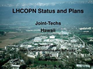 LHCOPN Status and Plans