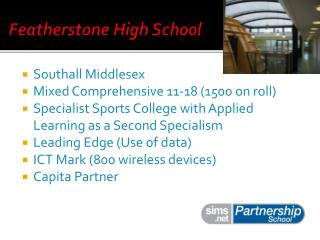 Featherstone High School