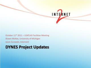DYNES Project Updates