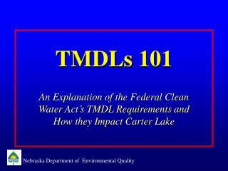 TMDLs 101