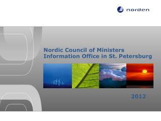 Nordic Council of Ministers Information Office in St. Petersburg