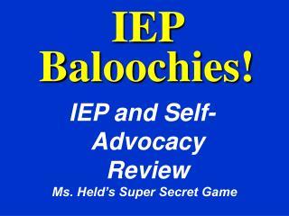 IEP Baloochies