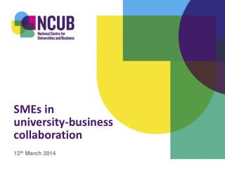 SMEs in  university-business collaboration