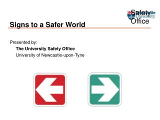Signs to a Safer World