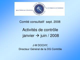 Comité consultatif  sept. 2008