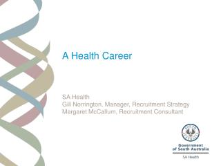A Health Career