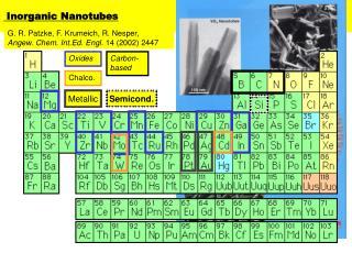 Inorganic Nanotubes