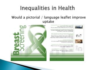 Inequalities in Health