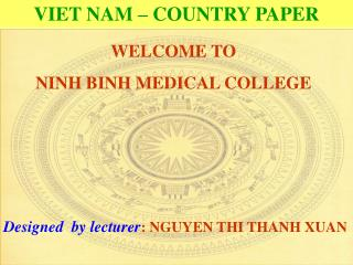 VIET NAM – COUNTRY PAPER