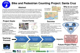 Bike and Pedestrian Counting Project: Santa Cruz