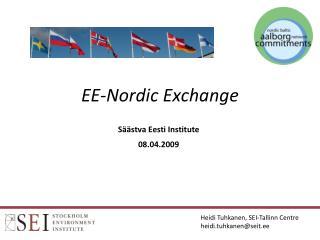 EE-Nordic Exchange