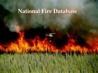 National Fire Database