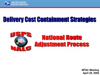 Delivery Cost Containment Strategies