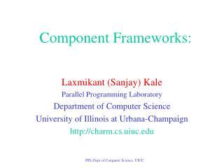 Component Frameworks: