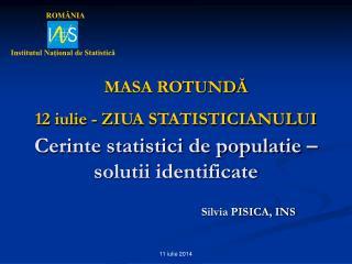 Silvia PISICA, INS