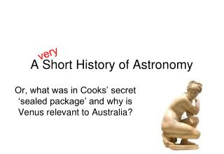 A Short History of Astronomy