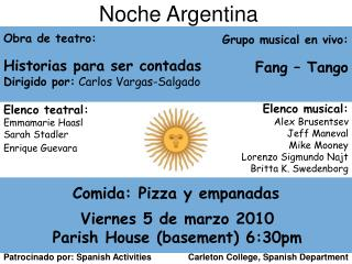 Noche Argentina