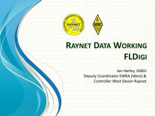 Raynet  Data Working FLDigi