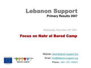 Lebanon Support