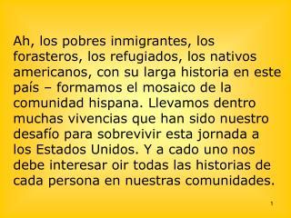 La población hispana en comparación a la población total