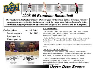 2008-09 Exquisite Basketball