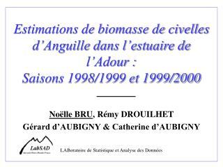 Noëlle BRU , Rémy DROUILHET  Gérard d'AUBIGNY & Catherine d'AUBIGNY