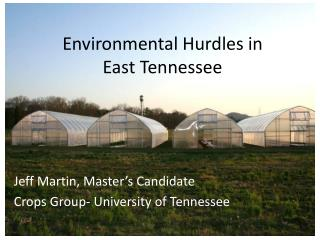 Environmental Hurdles in East Tennessee