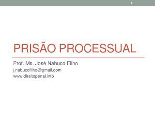 Prisão processual