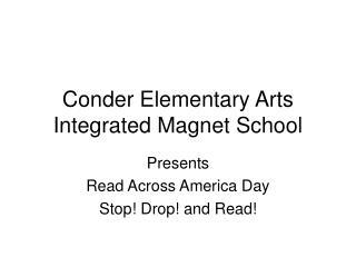 Conder Elementary Arts Integrated Magnet School