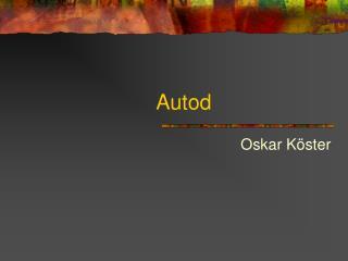 Autod