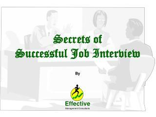 Secrets of Successful Job Interview
