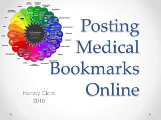 Posting Medical  Bookmarks  Online