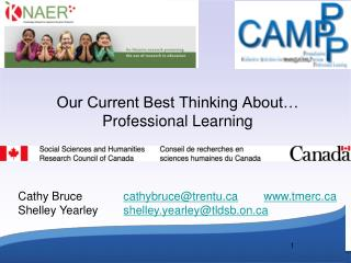 Our Current Best Thinking About… Professional Learning