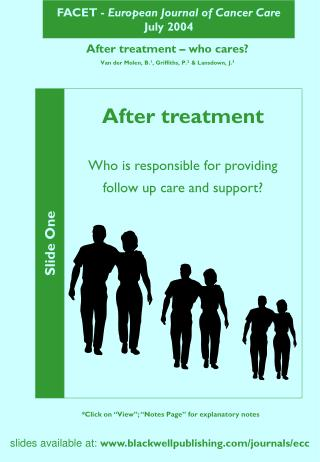 FACET -  European Journal of Cancer Care July 2004