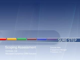 Scoping Assessment