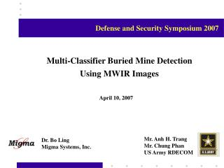 Multi-Classifier Buried Mine Detection Using MWIR Images