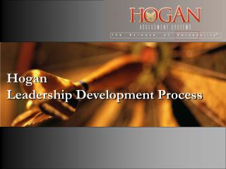 Hogan Leadership Development Process