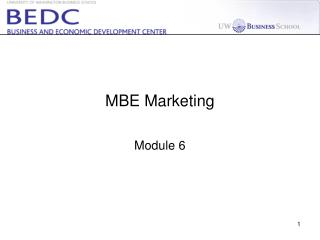 MBE Marketing