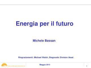 Energia  per  il futuro