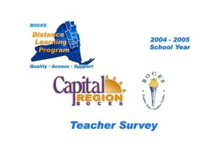22 CRB / FEH Distance Learning Teacher Survey Responses Were Received