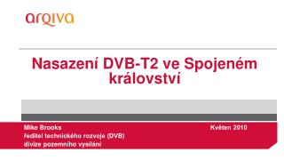 Nasazení DVB-T2 ve Spojeném království