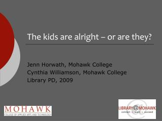 The kids are alright – or are they?