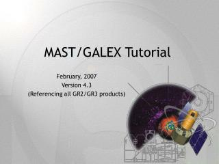 MAST/GALEX Tutorial