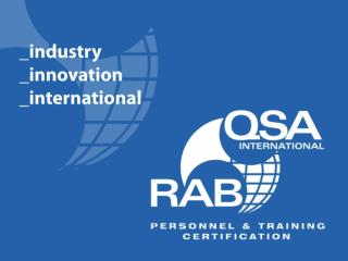 Qualification vs. competence    the future of aerospace auditing    Shanya Salamaca Executive Director The Americas RABQ
