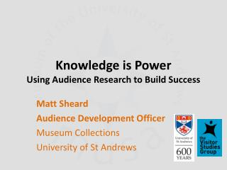 Knowledge is Power Using Audience Research to Build Success