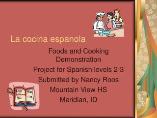 La cocina espanola