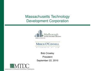 Massachusetts Technology Development Corporation