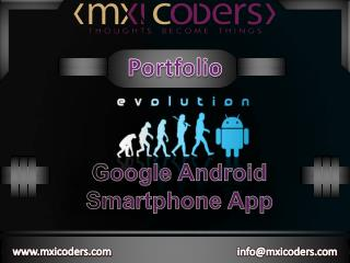 Google Android Smartphone App