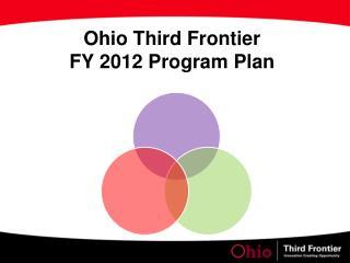 Ohio Third Frontier  FY 2012 Program Plan