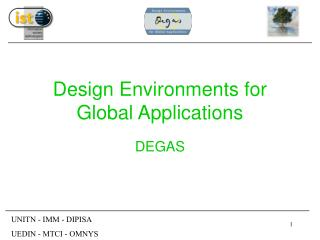 Design Environments for Global Applications